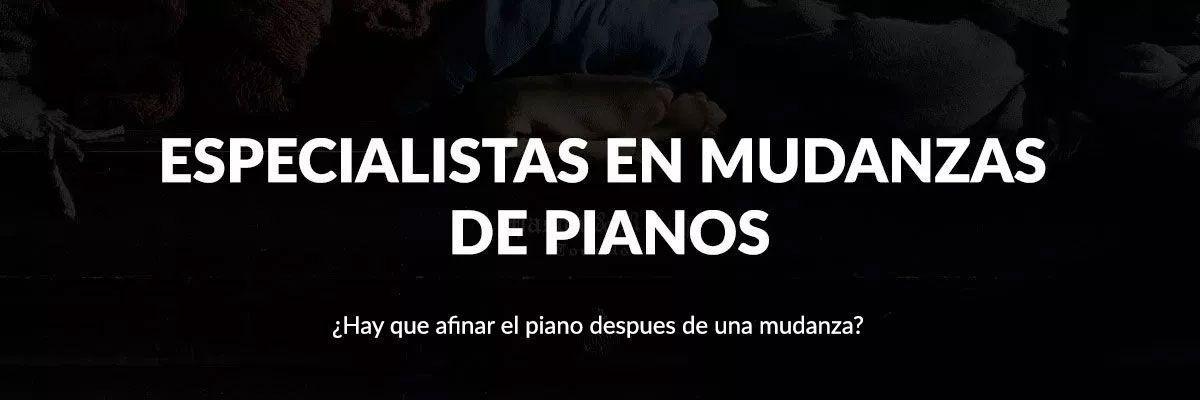 Especialistas en mudanzas de pianos en Valencia
